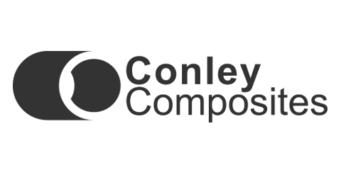Conley Composites Logo in grey
